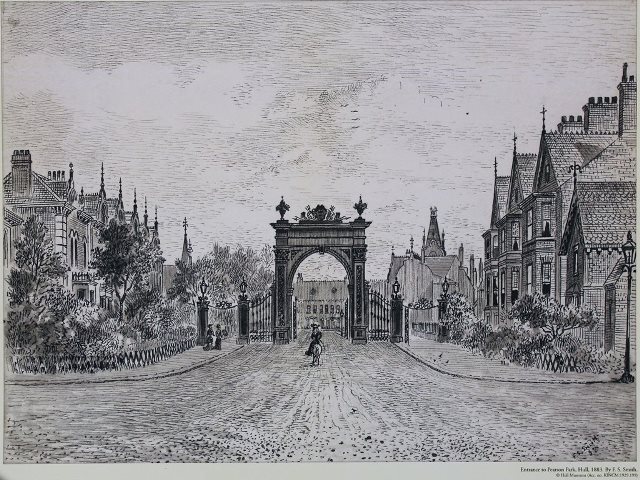 Drawing by FS Smith 1883