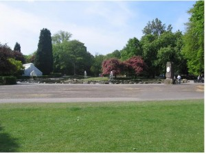 Pearson Park Lake & Fountain